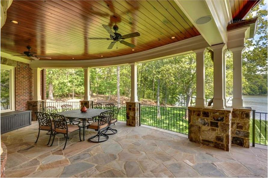 Patio of this 4-Bedroom,3954 Sq Ft Plan -3954
