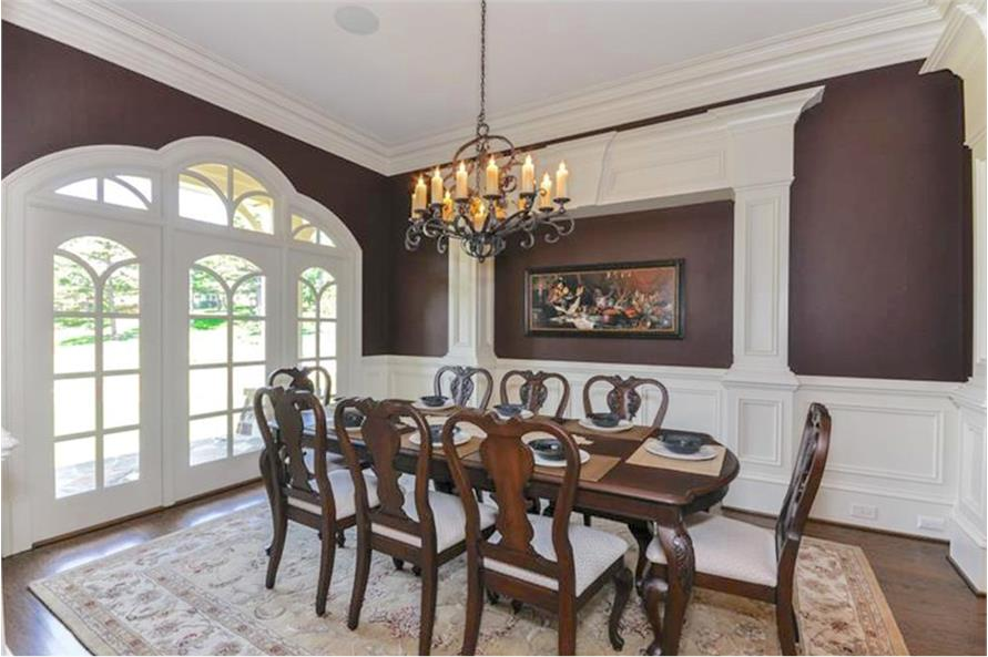 Dining Room of this 4-Bedroom,3954 Sq Ft Plan -3954