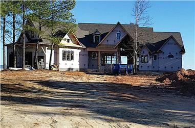 3-Bedroom, 3696 Sq Ft Cottage Home Plan - 198-1095 - Main Exterior