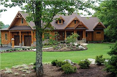 3-Bedroom, 2685 Sq Ft Cottage Home Plan - 198-1096 - Main Exterior