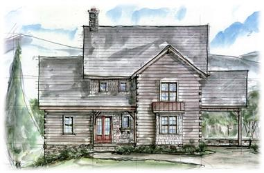 3-Bedroom, 3202 Sq Ft Farmhouse Home Plan - 198-1099 - Main Exterior