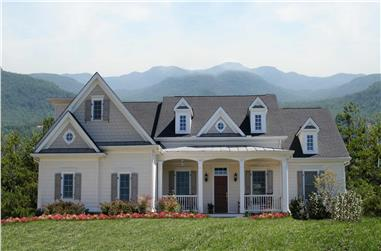 3-Bedroom, 1861 Sq Ft Ranch House Plan - 198-1109 - Front Exterior