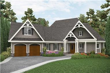 3-Bedroom, 2243 Sq Ft Cottage House - Plan #198-1115 - Front Exterior
