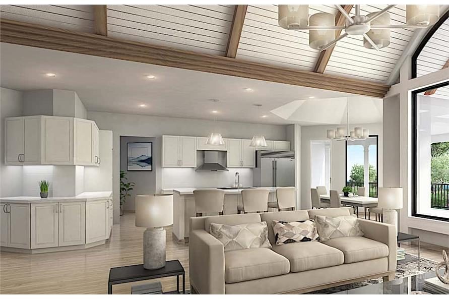 Great Room of this 3-Bedroom,3730 Sq Ft Plan -3730