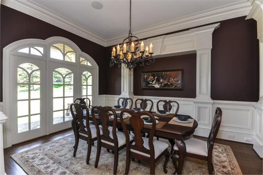 Dining Room of this 3-Bedroom,3730 Sq Ft Plan -3730