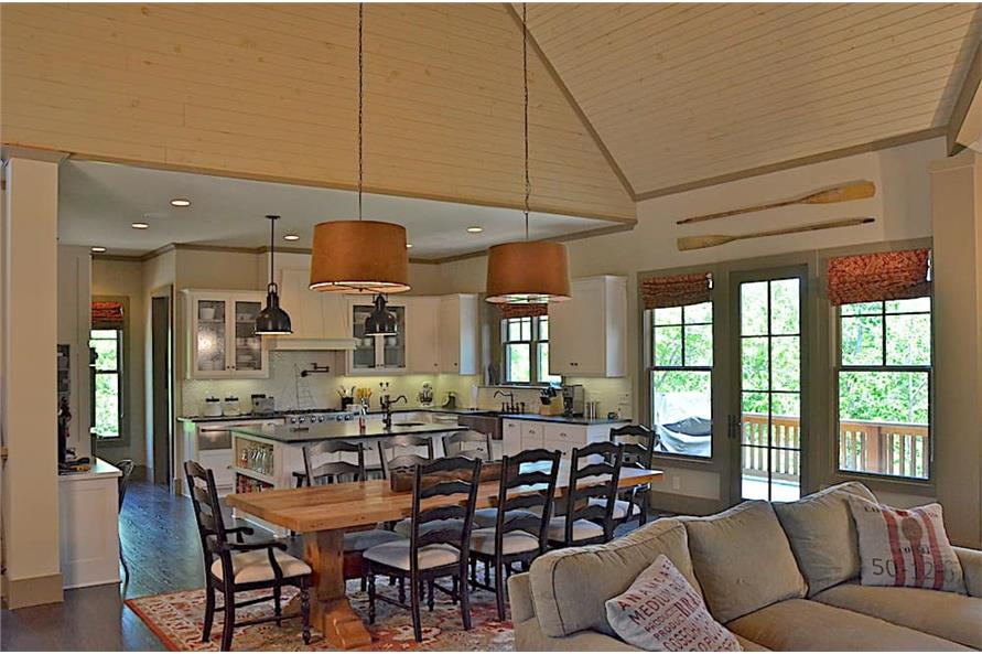 Dining Room of this 3-Bedroom,4384 Sq Ft Plan -4384