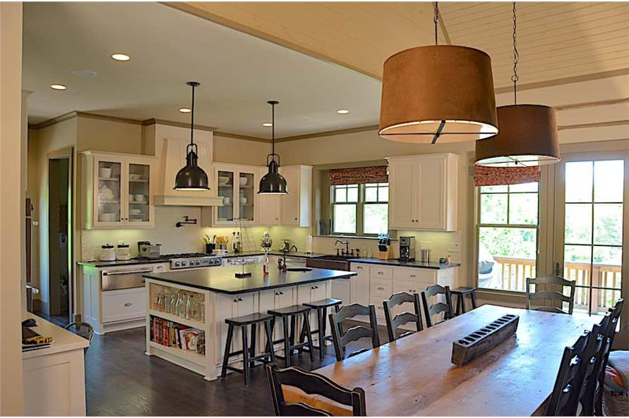 Kitchen of this 3-Bedroom,4384 Sq Ft Plan -4384