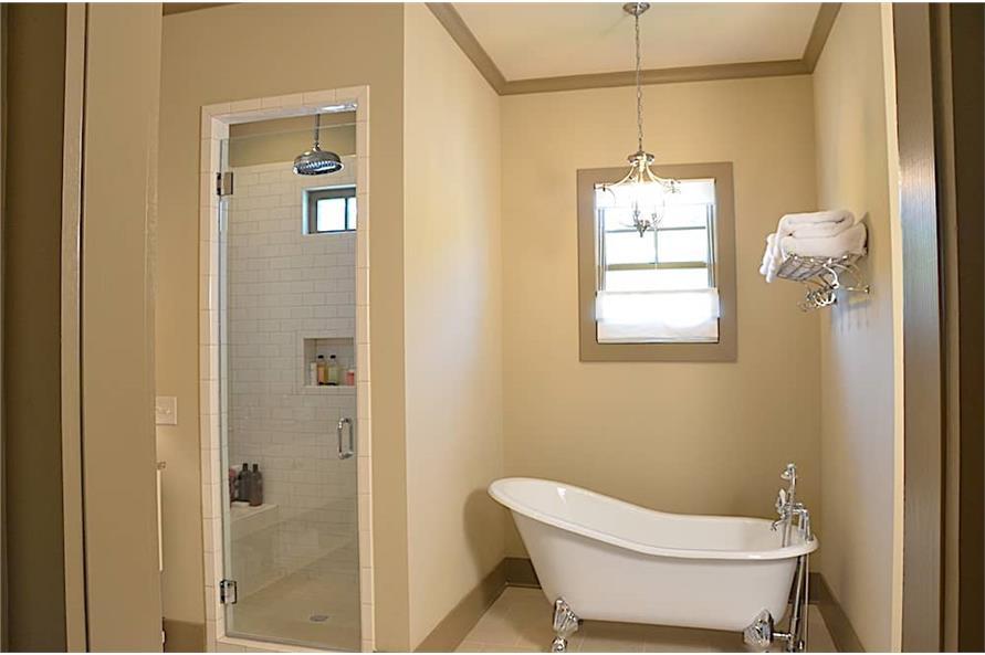 Master Bathroom: Tub of this 3-Bedroom,4384 Sq Ft Plan -4384