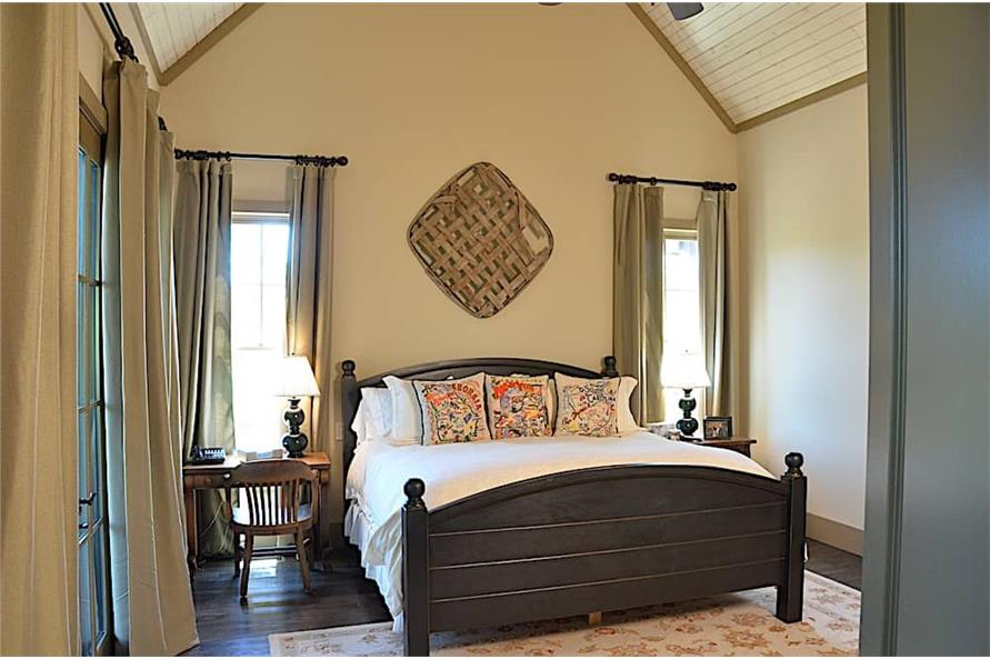 Master Bedroom of this 3-Bedroom,4384 Sq Ft Plan -4384