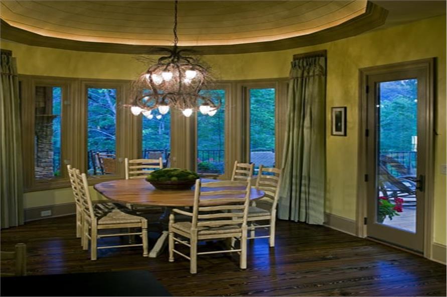 Kitchen: Breakfast Nook of this 3-Bedroom,3642 Sq Ft Plan -198-1125