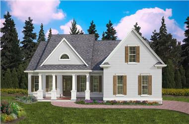3-Bedroom, 2237 Sq Ft Cottage Home - Plan #198-1128 - Main Exterior