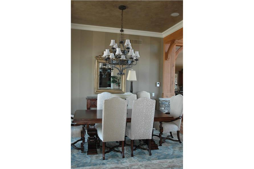 Dining Room of this 5-Bedroom,4851 Sq Ft Plan -198-1133