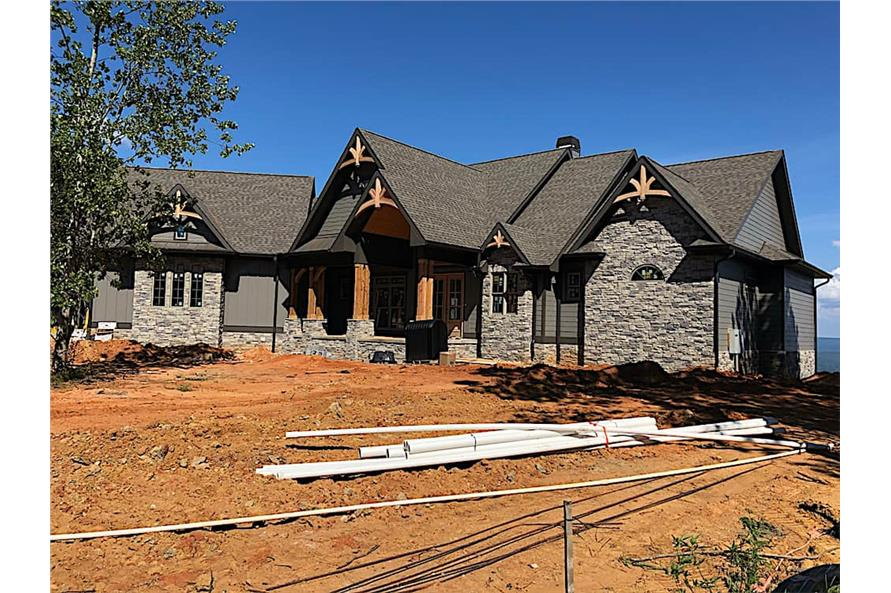 Home Exterior Photograph of this 5-Bedroom,4851 Sq Ft Plan -198-1133