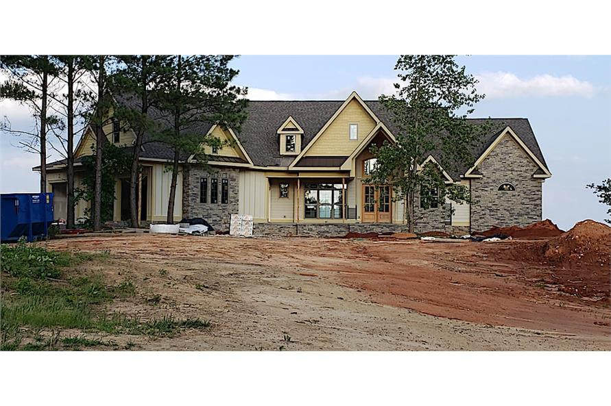 Front View of this 5-Bedroom,4851 Sq Ft Plan -198-1133