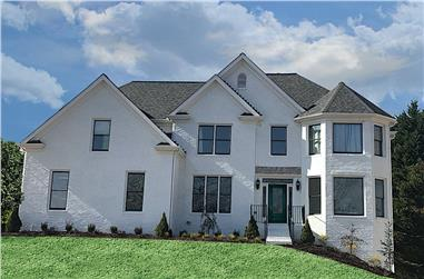 4-Bedroom, 3461 Sq Ft Traditional House - Plan #198-1134 - Front Exterior