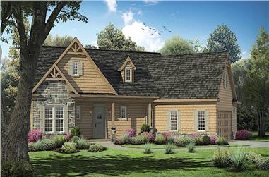 3-Bedroom, 2492 Sq Ft Cottage House - Plan #198-1138 - Front Exterior