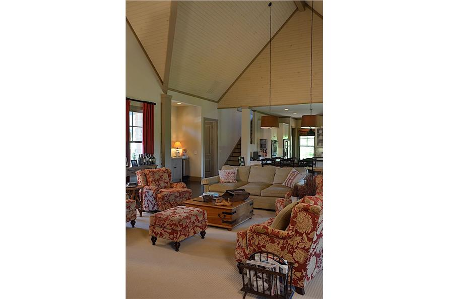 Great Room of this 3-Bedroom,3169 Sq Ft Plan -198-1139