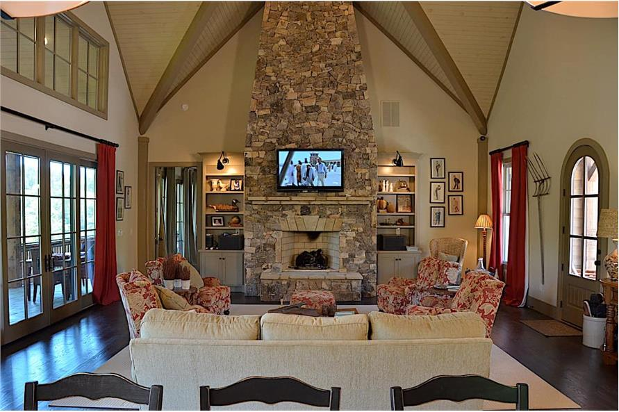 Family Room of this 3-Bedroom,3169 Sq Ft Plan -198-1139