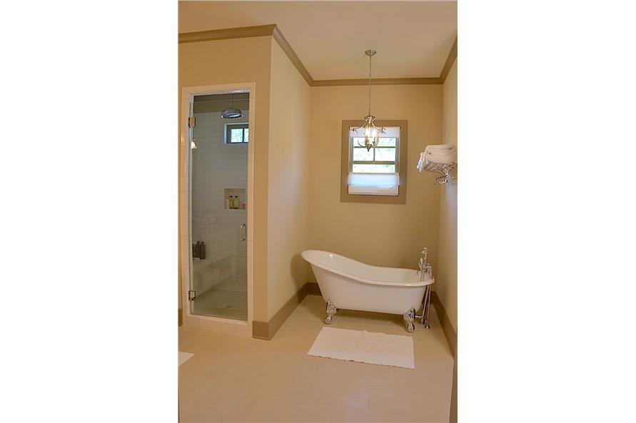 Master Bathroom: Tub of this 3-Bedroom,3169 Sq Ft Plan -198-1139