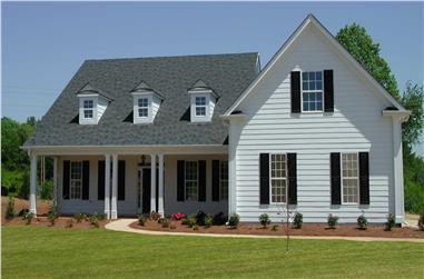 3-Bedroom, 2471 Sq Ft Cape Cod Home - Plan #198-1150 - Main Exterior