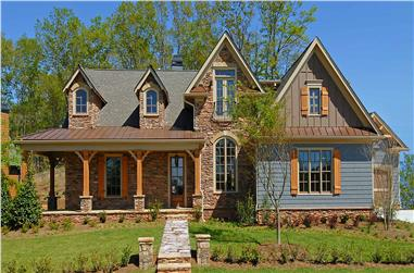 4-Bedroom, 2979 Sq Ft Cottage Home - Plan #198-1151 - Main Exterior