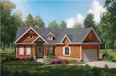 3-Bedroom, 1338 Sq Ft Cottage House - Plan #198-1153 - Front Exterior
