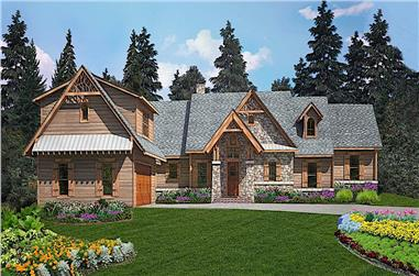 4-Bedroom, 2993 Sq Ft Cottage Home - Plan #198-1155 - Main Exterior