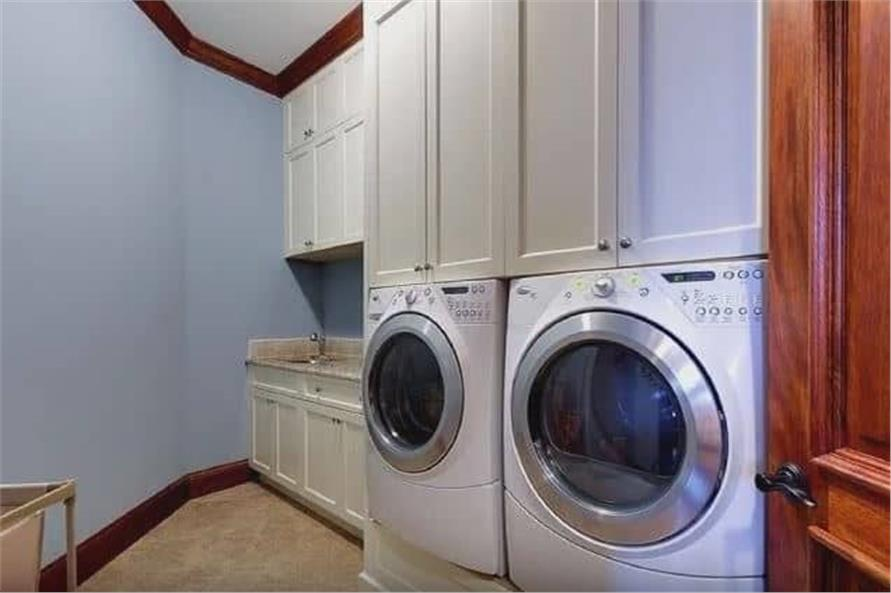 Laundry Room of this 3-Bedroom,3110 Sq Ft Plan -198-1158