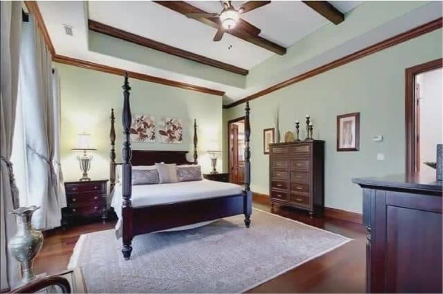 Master Bedroom of this 3-Bedroom,3110 Sq Ft Plan -198-1158