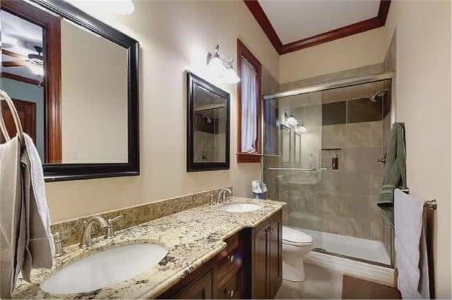Bathroom of this 3-Bedroom,3110 Sq Ft Plan -198-1158
