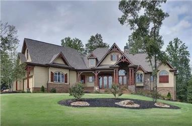 3-Bedroom, 3110 Sq Ft Cottage Style House - Plan #198-1158 - Front Exterior