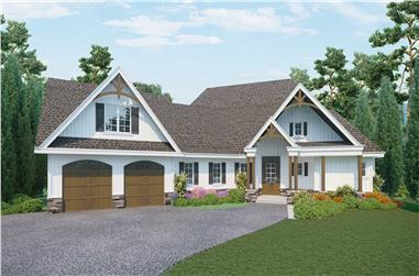 3-Bedroom, 2269 Sq Ft Ranch Home - Plan #198-1162 - Main Exterior