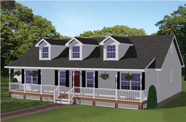 Cape Cod House Plans | The Plan Collection