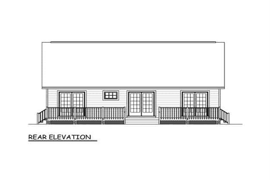 Ranch Home - 3 Bedrms, 2 Baths - 1200 Sq Ft - Plan #200-1072 on rental house design, two bedroom house design, 4 bedrooms house design, kitchen house design, pool house design,
