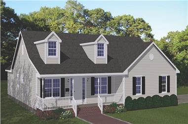 3-Bedroom, 1840 Sq Ft Ranch Home Plan - 200-1083 - Main Exterior