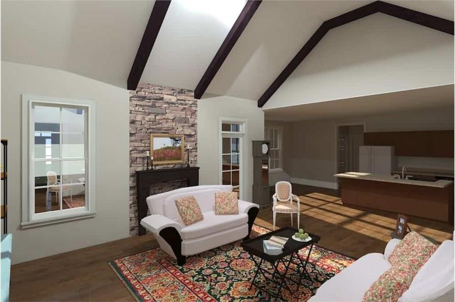 Great Room of this 3-Bedroom,2509 Sq Ft Plan -2509