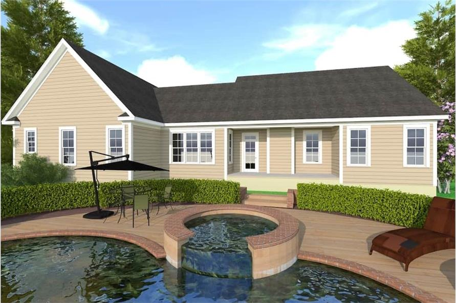 Pool of this 3-Bedroom,2509 Sq Ft Plan -2509