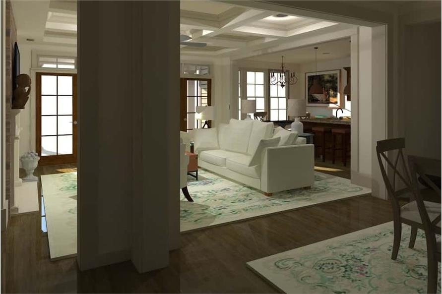 Great Room of this 3-Bedroom,2488 Sq Ft Plan -2488