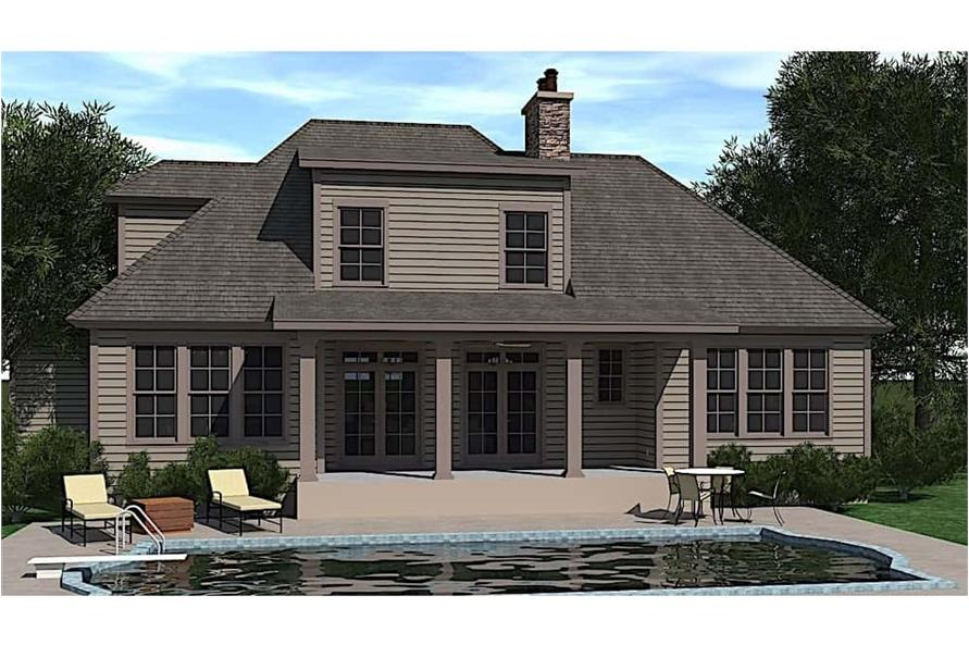 Pool of this 3-Bedroom,2488 Sq Ft Plan -2488