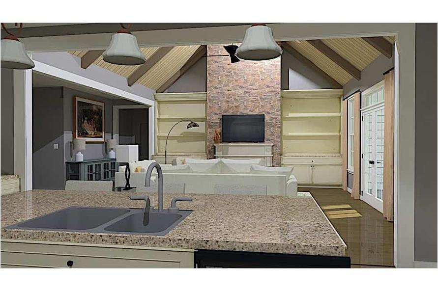 Great Room of this 3-Bedroom,3280 Sq Ft Plan -3280
