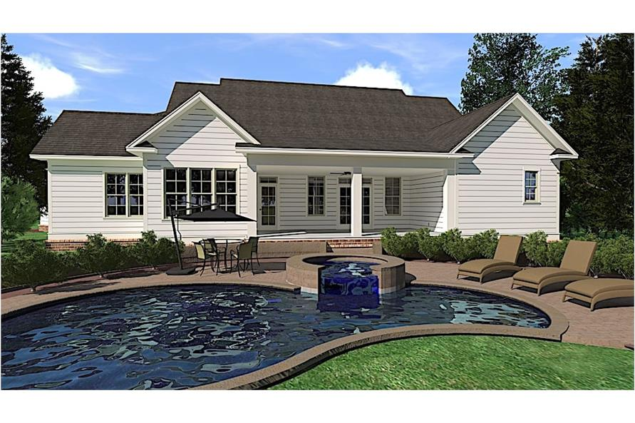 Pool of this 3-Bedroom,3280 Sq Ft Plan -3280
