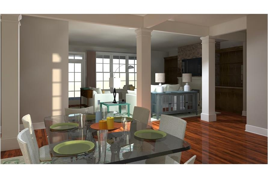Dining Room of this 4-Bedroom,2995 Sq Ft Plan -2995
