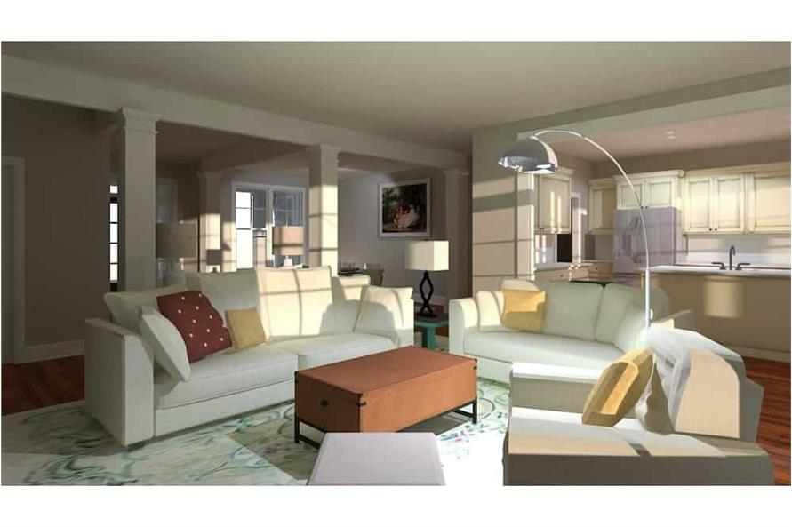 Great Room of this 4-Bedroom,2995 Sq Ft Plan -2995