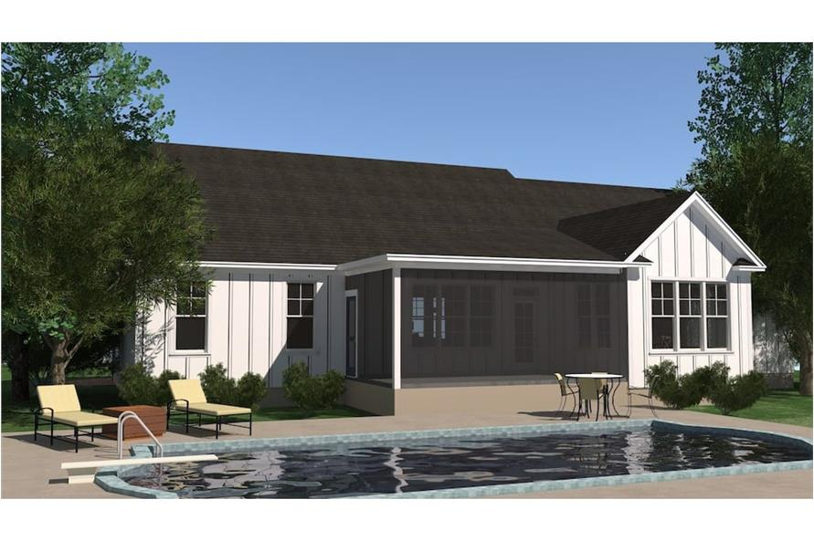 Pool of this 4-Bedroom,2995 Sq Ft Plan -2995