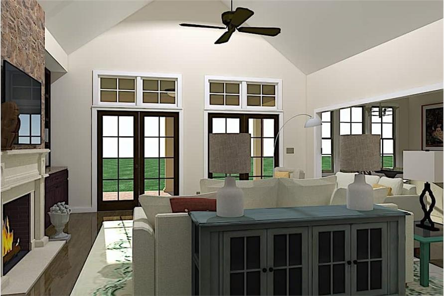 Great Room of this 3-Bedroom,2527 Sq Ft Plan -2527