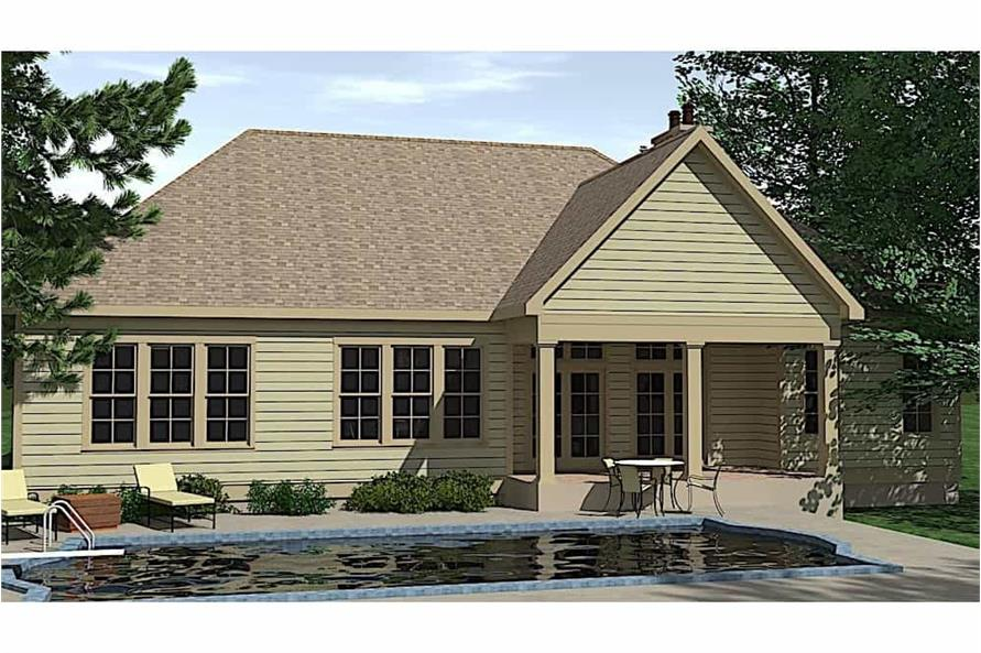 Pool of this 3-Bedroom,2527 Sq Ft Plan -2527