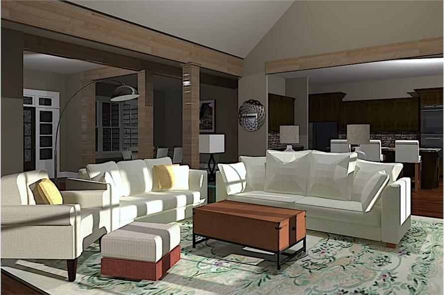 Great Room of this 3-Bedroom,3742 Sq Ft Plan -3742