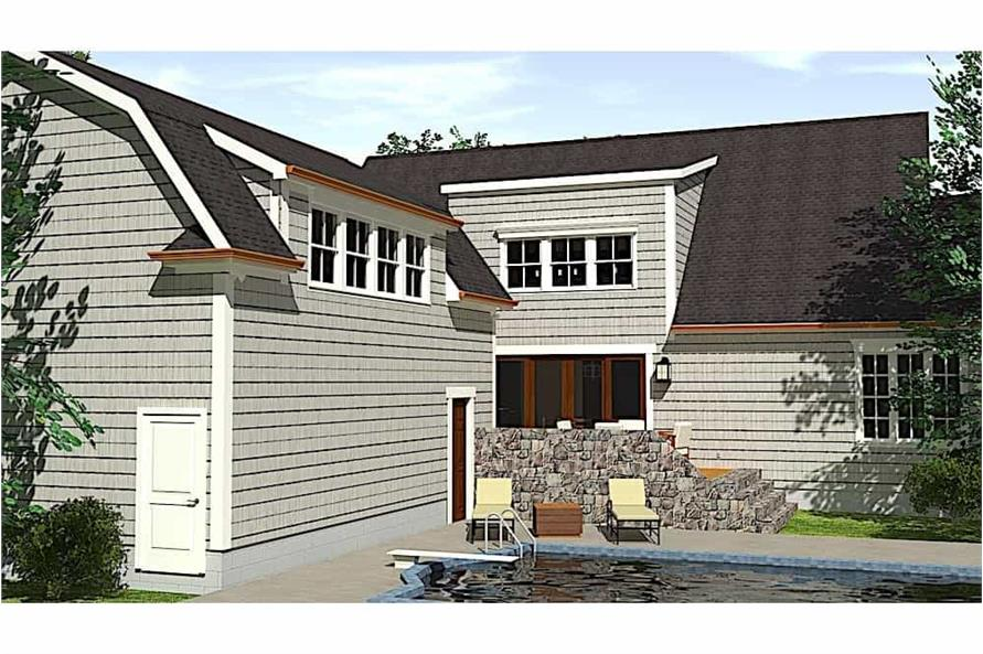 Pool of this 4-Bedroom,2996 Sq Ft Plan -2996
