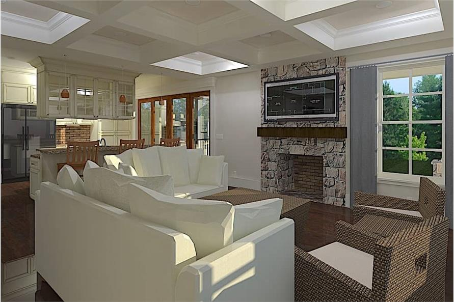 Great Room of this 4-Bedroom,2996 Sq Ft Plan -2996