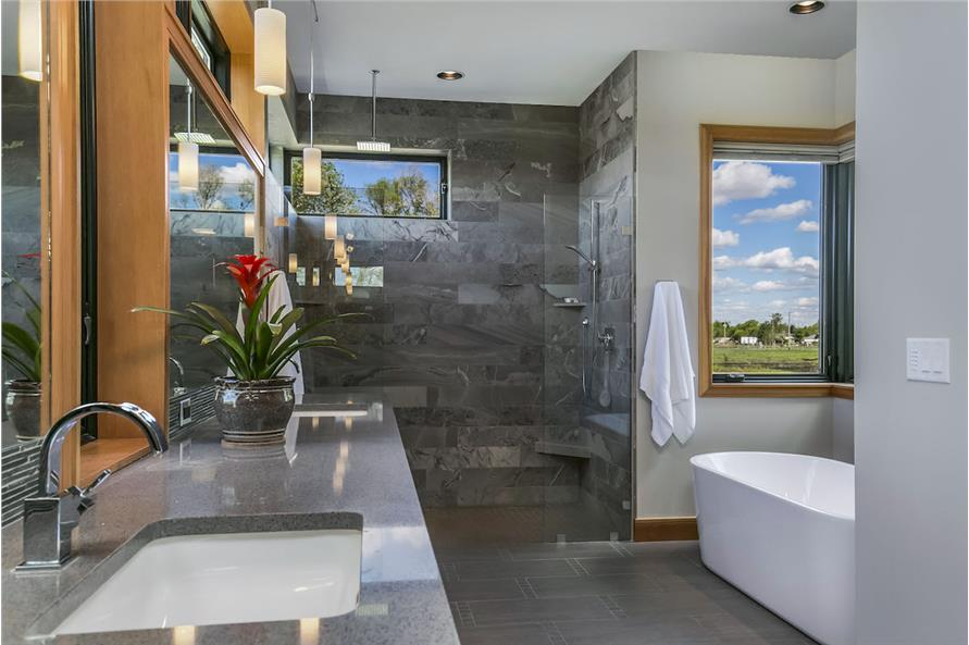 Master Bathroom of this 3-Bedroom,4036 Sq Ft Plan -4036